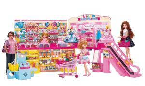 リカちゃん-セルフレジでピッ!おおきなショッピングモール