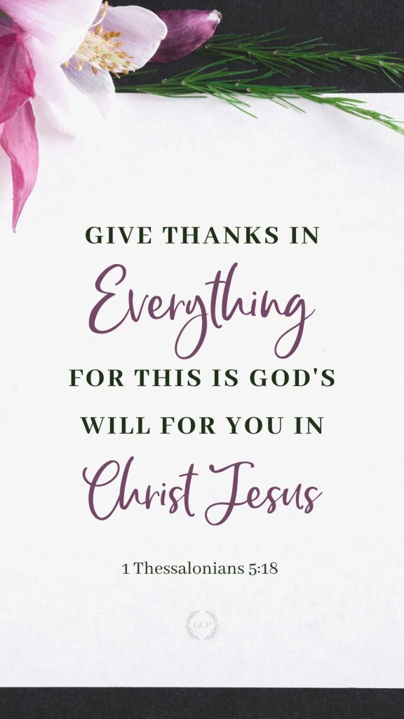 image of Bible verse wallpaper - gratitude