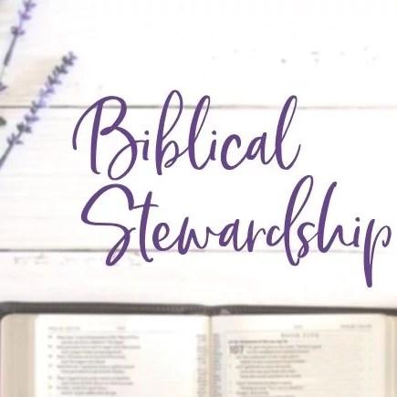 image of bible and biblical stewardship