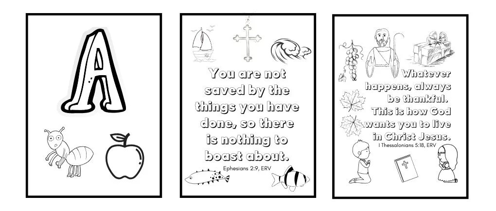 image of bible verse coloring pages for kids