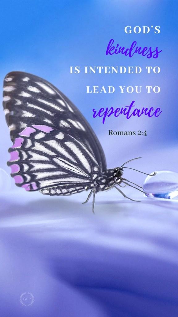 image of repentance bible verse phone wallpaper
