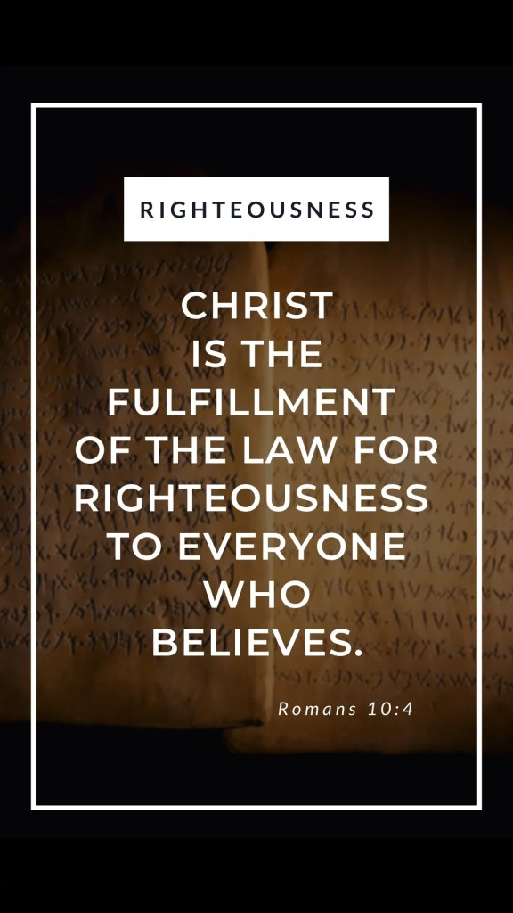image of bible verse phone wallpaper - righteousness