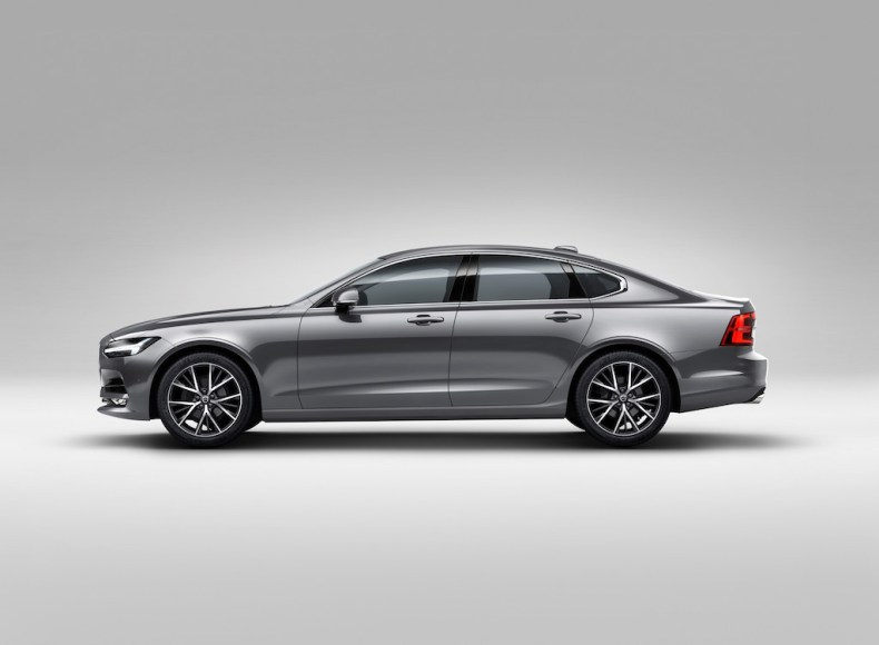 Profile Left Volvo S90 Osmium Grey