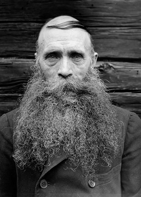 Karl Oskar Lööw, rođen 1873. godine, snimljeno u Fredhällu u Švedskoj 1933. godine