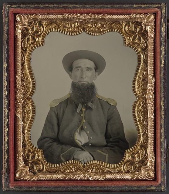 Nepoznati vojnik između 1861. i 1865. godine