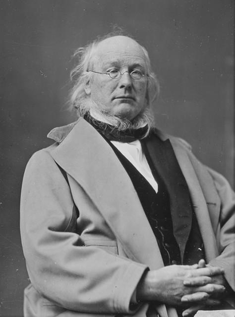 Horace Creeley (1811 – 1872), osnivač New York Tribune, žestoki protivnik ropstva te vlasnik najpoznatije brade na vratu.