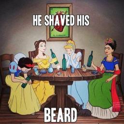 he-shaved-his-beard-meme