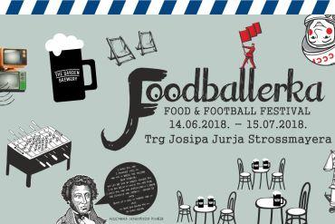 FOODBALERKA Retro carstvo nogometa, super klope i sjajne zabave na Strossmayerovom trgu
