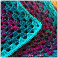 Giant Granny Square Blanket Crochet For Christmas - Part 2 - 2