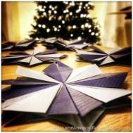 Teabag Folded Tree Decorations - 3