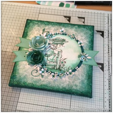 A Mixed Media Canvas Creation by Gentleman Crafter - Slideshow - 1