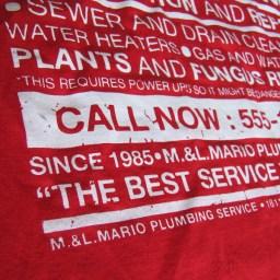 tee shirt Mario Bros 2