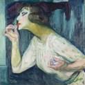 Kupka, Le rouge à lèvres, 1908