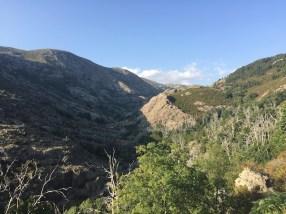 La rando près de Lozzi et ses paysages naturels