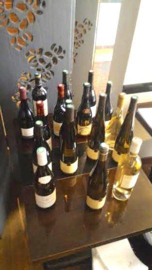 Florilège des vins dégustés, que du bon!
