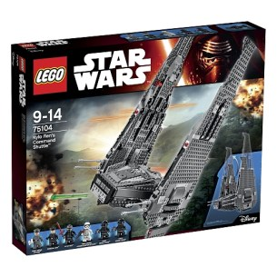 meilleurs lego star wars command shuttle