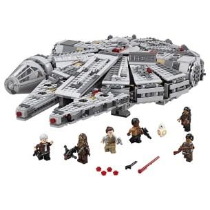 meilleurs lego star wars faucon millenium han