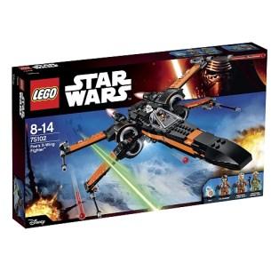 meilleurs lego star wars poe dameron xwing