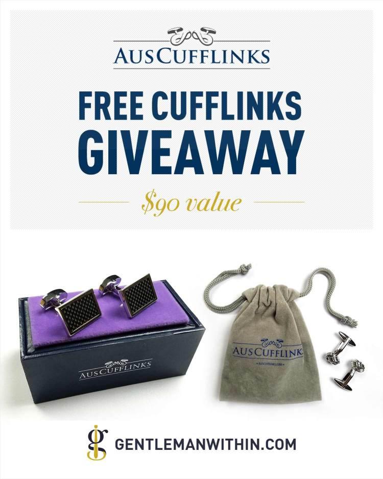 AusCufflinks Free Cufflinks Giveaway | Gentleman Within