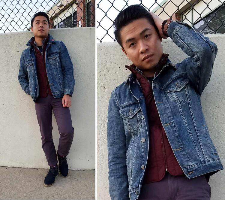 Denim Jacket Layered Up Look | GENTLEMAN WITHIN