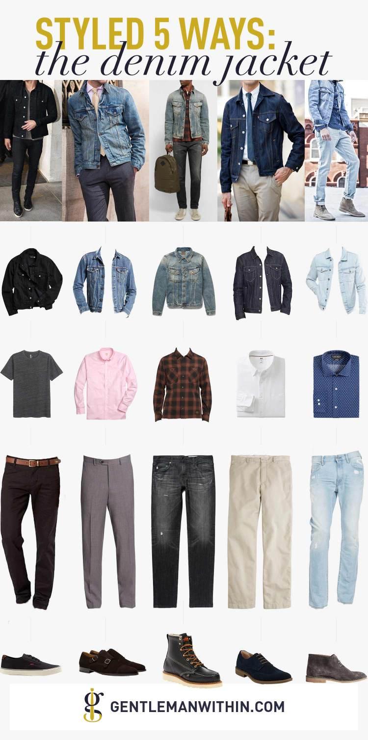 Styled 5 Ways: The Denim Jacket | Gentleman Within
