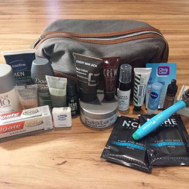 Dopp Kit Travel Essentials