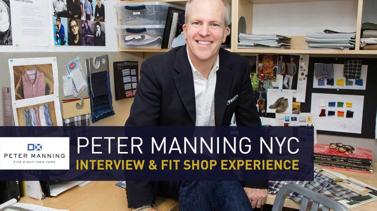 Interview with Peter Manning NYC | Clothes for Shorter Men