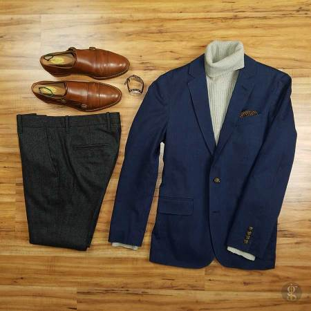 How To Wear A Navy Blue Blazer In The Winter   GENTLEMAN WITHIN