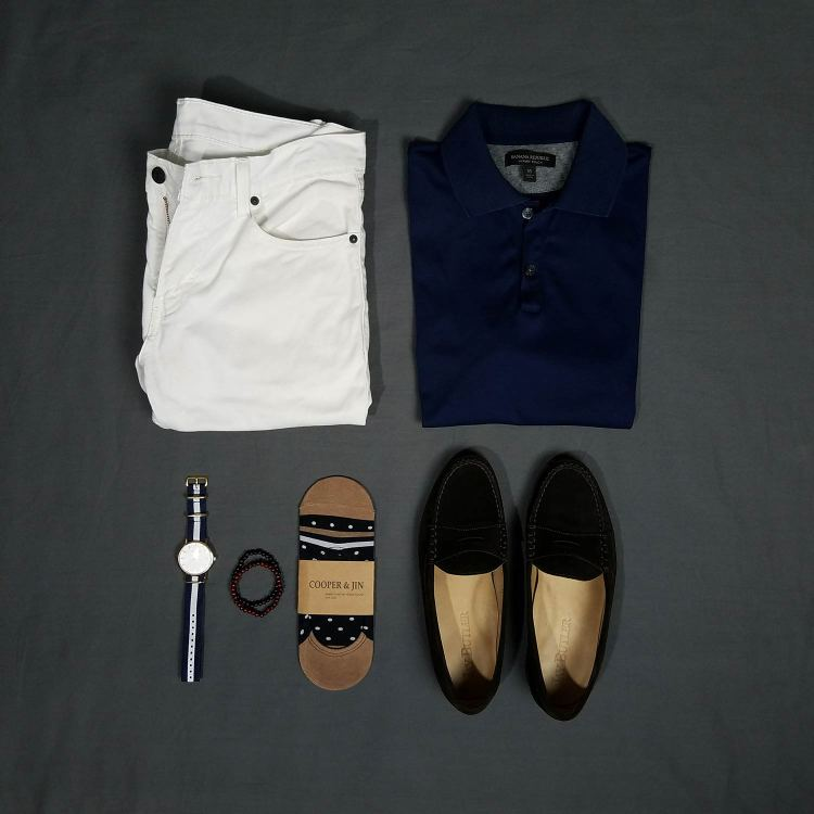 Simple Summers Flatlay | GENTLEMAN WITHIN