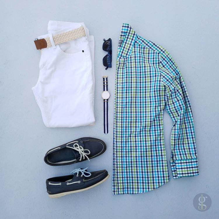Woven Cloth Belt Flatlay | GENTLEMAN WITHIN
