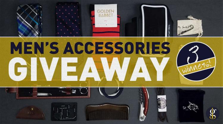 1 Year 1k IG Followers Men's Accessories Giveaway | GENTLEMAN WITHIN