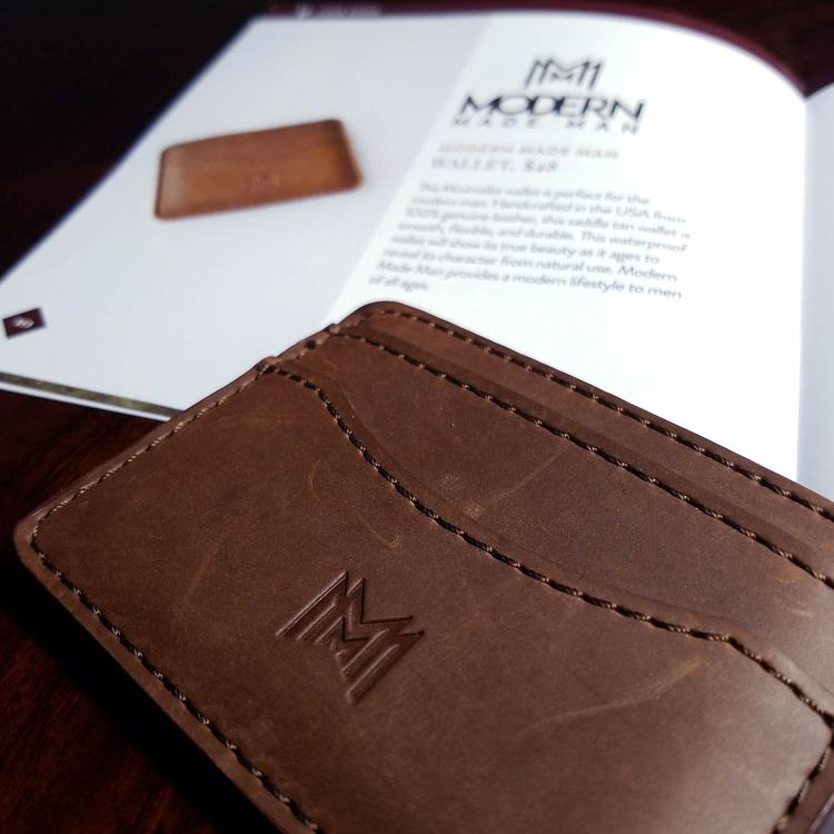 Modern Made Man Leather Wallet