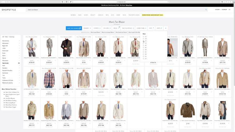 ShopStyle Blazer Price Filter | GENTLEMAN WITHIN