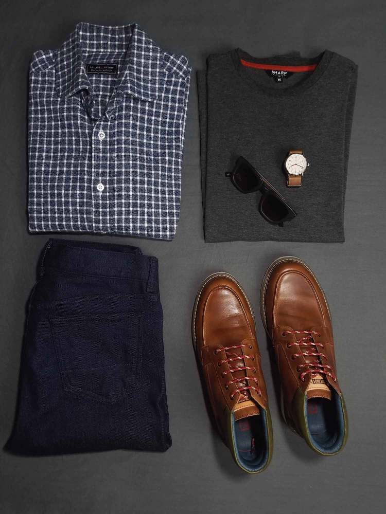 Transitioning From Summer To Fall Flatlay 2 | GENTLEMAN WITHIN