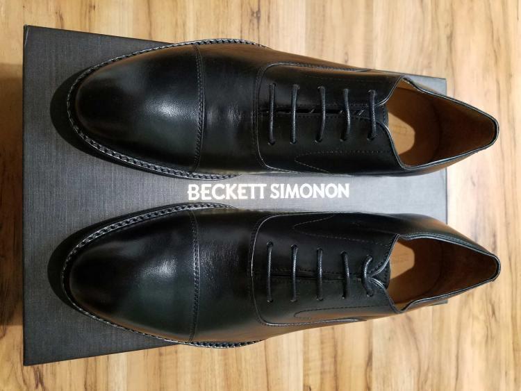 Beckett Simonon Dean Oxford Top View   GENTLEMAN WITHIN