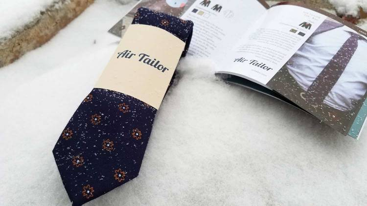 Air Tailor Necktie | GENTLEMAN WITHIN