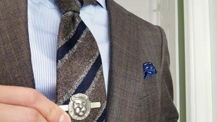 Look 1: Suit & Statement Piece | GENTLEMAN WITHIN