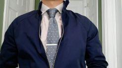 Look 3: Harrington Jacket & Knit Tie | GENTLEMAN WITHIN