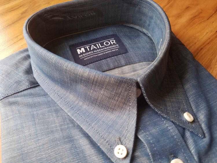 MTailor Custom Shirt Details   GENTLEMAN WITHIN