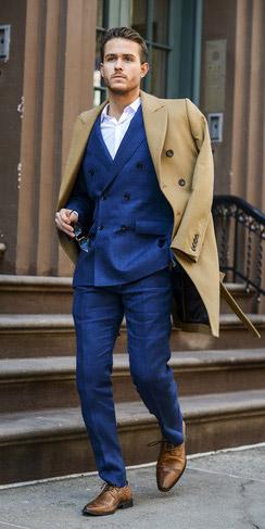 Camel Overcoat Look 5