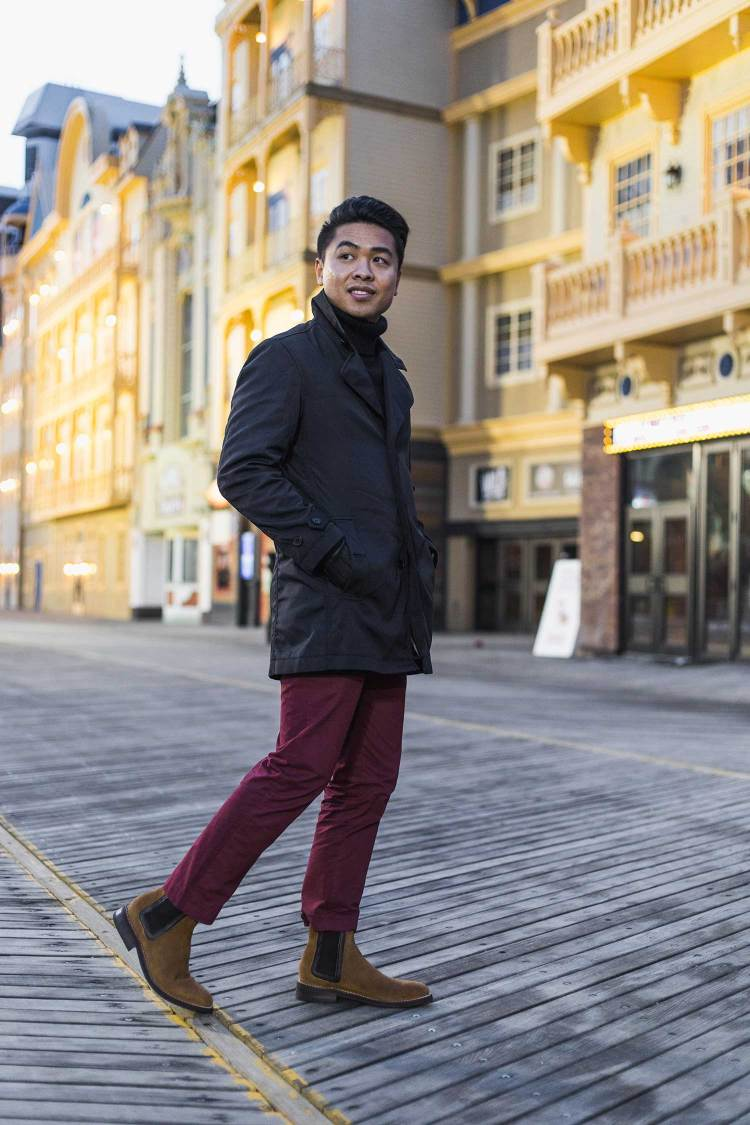 Valentine's Day Look 1: Rolled & Red 2 | GENTLEMAN WITHIN