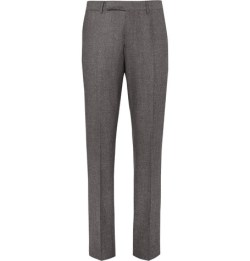 Ash grey coloured trousers go well with most colours.