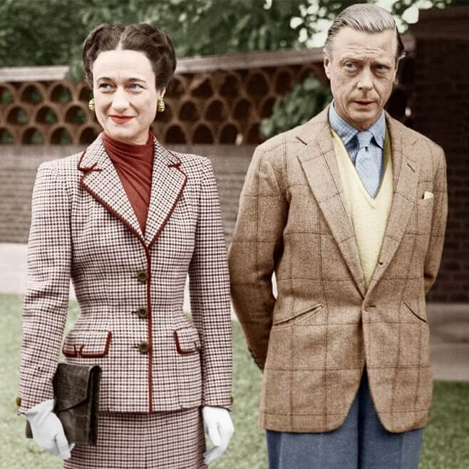 Casual outfit of the Duke of Windsor