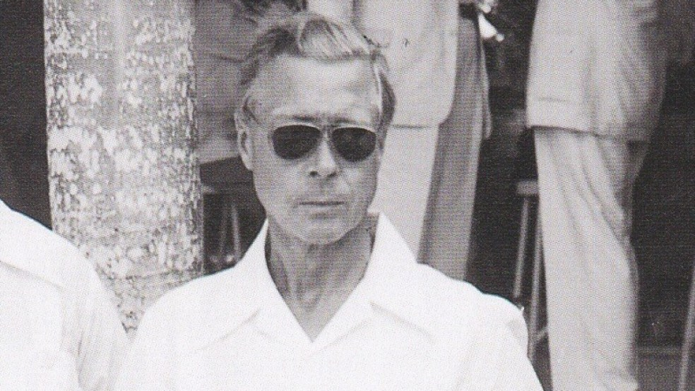 The Duke of Windsor with sunglasses.