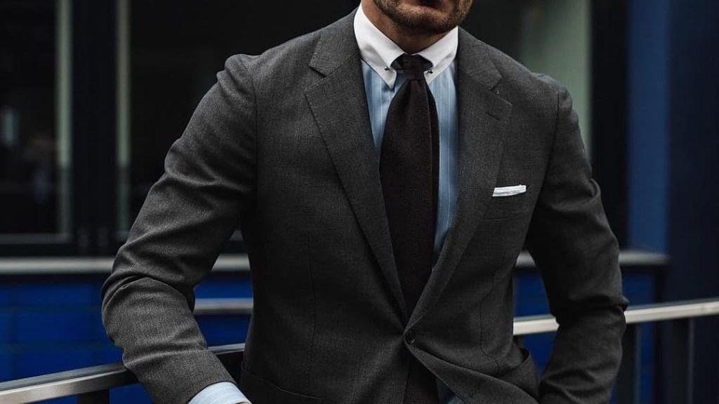 A modern power suit by MR JUSTUS HANSEN