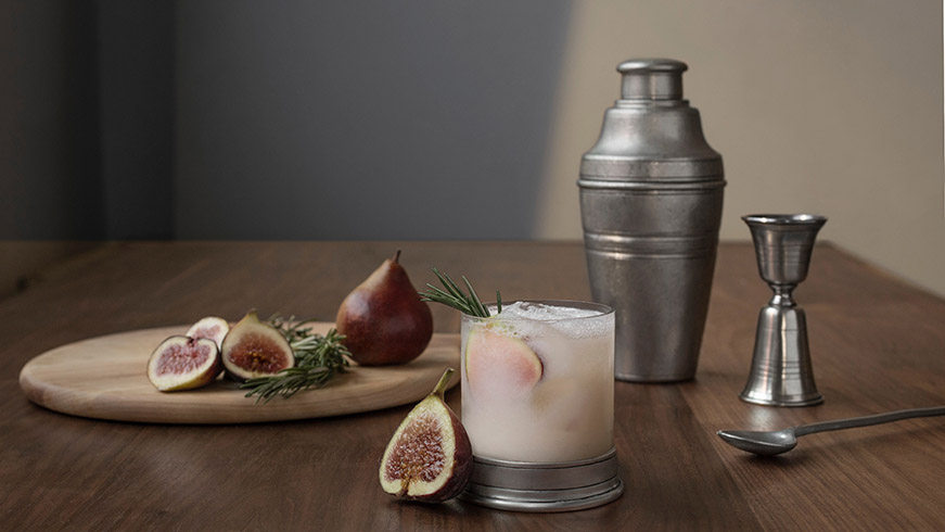A personalized cocktail shaker is the perfect gift for hedonists.