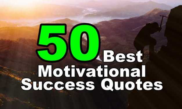 50 Short Success Quotes for Life