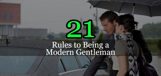 Rules to Being a Modern Gentleman