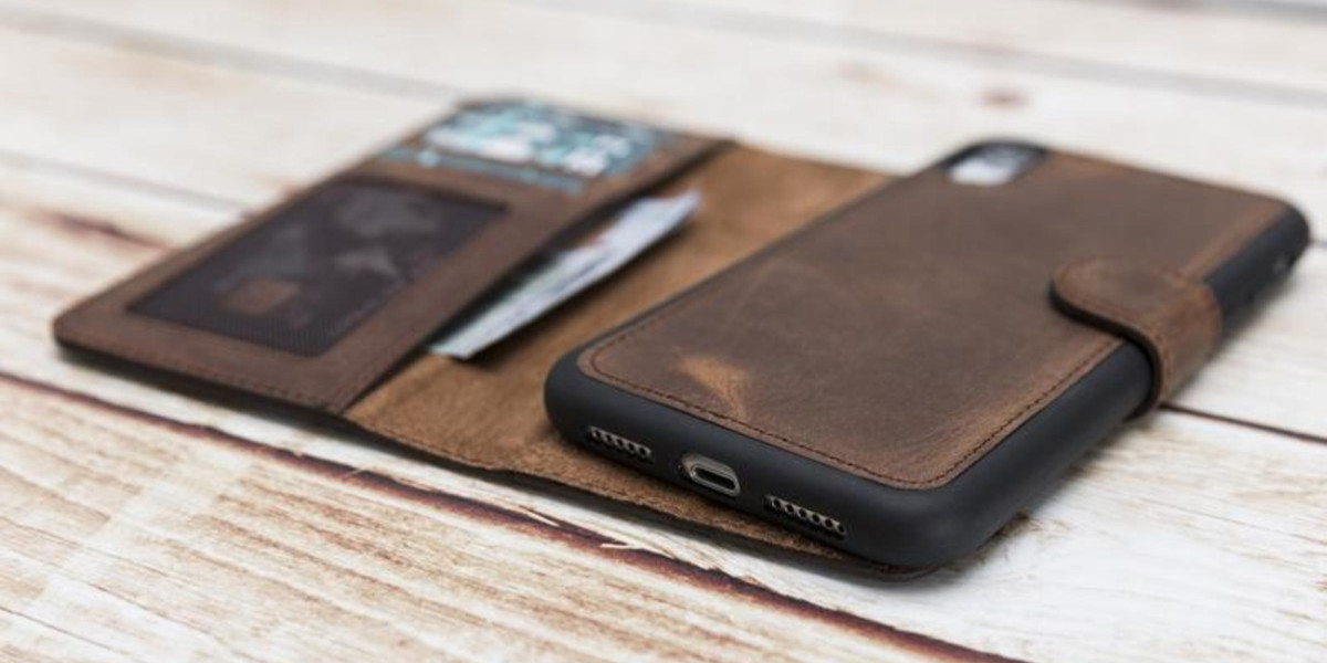 Real Men use a Modern Minimalist Wallet Phone Case