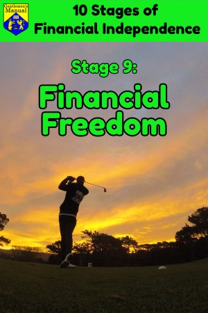 Stage 9: Financial Freedom, Stages of Financial Independence